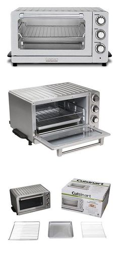 Toaster Ovens 122930 Cuisinart Tob195 Exact Heat Toaster Oven