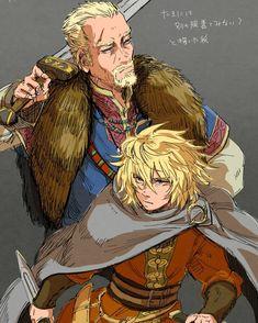 Cry Anime, Anime Art, Vinland Saga, Girls Anime, Hatsune Miku, Studio Ghibli, Anime Couples, Manhwa, Vikings