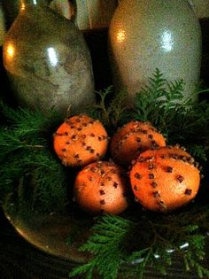 remember making these as a child...i can smell the cloves and orange!