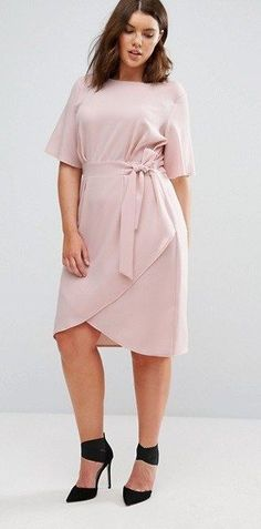 45 Plus Size Wedding Guest Dresses  with Sleeves 6437adf50