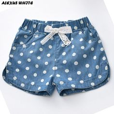beachwear children clothing western summer cotton shorts lovely polka linen jeans girls denim pant 2017 Summer 2017 Girls Denim Shorts Jeans Shorts Children Clothing Lovely Polka Dots Baby Western CottonYou can find Shorts and more on our website Girls Denim Shorts, Kids Shorts, Shorts For Girls, Girls Jeans, Summer Shorts, Denim Jeans, Summer Denim, Long Shorts, Denim Skirt
