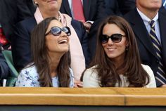 pippa middleton rayban sunglasses | Duchess of Cambridge (Kate Middleton) and her sister Pippa Middleton ...