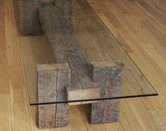 Reclaimed Hout dining Chair. Handgemaakte dining door TicinoDesign