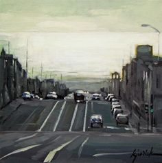"""Outer Sunset"" - Original Fine Art for Sale - © Karin Jurick"