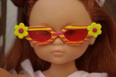 Tutorial: Fimo glasses for dolls.