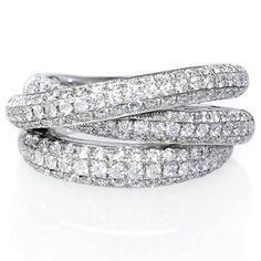 Image result for diamond russian wedding ring