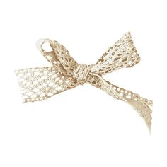 NLD Lace bow.png ❤ liked on Polyvore featuring bows and ribbons y ribbon