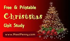 Christmas Homeschooling Activities, Books, Crafts and Printables List | Stacy Sews and Schools