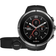 Suunto Spartan Ultra Multisport GPS Watch HR Bundle   Black