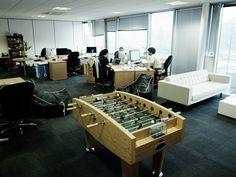 Office w/Foosball table. Fancy a game?