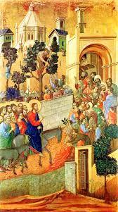 Resultado de imagen de entry to jerusalem duccio