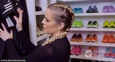 Khloe Kardashian pokazała swoja garderobę