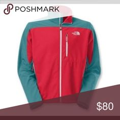 The North Face mens Apex Bionic soft shell Jacket New with tag, size Xxl, TNF™ Apex ClimateBlock fabric is windproof, breathable and highly water resistant Fleece backer enhances moisture wicking and warmth Use the jacket for mid-levels of aerobic activity (hiking, skiing, snowboarding) Durable water repellent finish fends off light rain showers and snow Windflap backs front zipper; chin guard protects against zipper abrasion Adjustable cuffs and hem drawcord help hold in warmth 2 zippered…