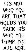 Tim Holtz Stamp - love the saying!
