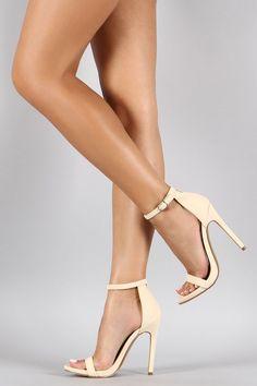 Shoe Republic LA Darling Open Toe Heel: