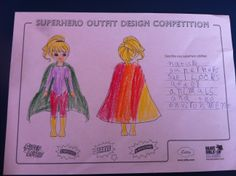Oliver, age 5, Melbourne, Australia. Superhero abilities: Nature Superhero- she can look after animals and the environment.