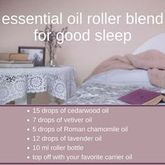 Insomnia Remedies Essential oil roller blend for good sleep made with the bet essential oils for rest: lavender, cedarwood, roman chamomile, and vetiver. Get the rest you need with thee natural remedies. Insomnia Cures, Chamomile Oil, Roman Chamomile, Natural Sleep Remedies, Natural Sleep Aids, Essential Oil Blends, Essential Oils, Sleep Roller, English Grammar