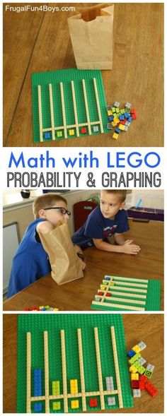 Fun with Math! Probability and Graphing with LEGO®️️ Bricks