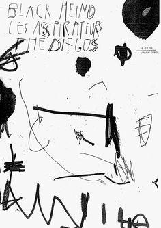 Urban Spree - Various posters - Damien Tran Cover Design, Graphisches Design, Print Design, Graphic Design Posters, Graphic Design Inspiration, Typography Design, Graphic Art, Type Posters, Mises En Page Design Graphique
