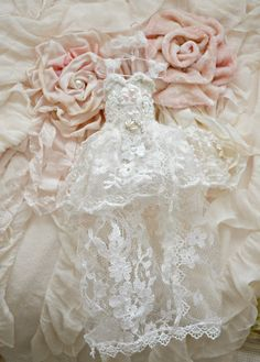 Handmade Fairy Bridal Gown by Jennelise Rose by Jenneliserose