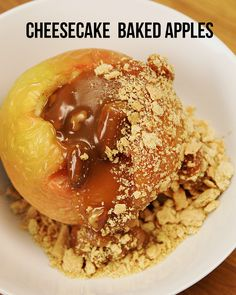Cheesecake Baked Apples