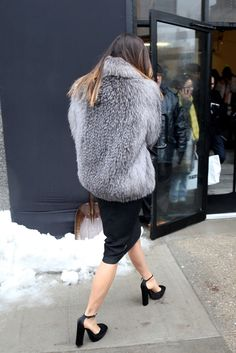 They Are Wearing: New York Fashion Week Fall 2014 - Slideshow