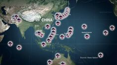 """""""China poses a threat to US national security"""" - White House  These are American airbases threatened by China's success as a country."""