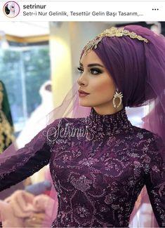 Beautiful memories from Setri Nur Diyarbakır . Beautiful memories from Setri Nur Diyarbakır … ri … Hijabi Wedding, Wedding Hijab Styles, Muslimah Wedding Dress, Hijab Wedding Dresses, Wedding Gowns, Beautiful Prom Dresses, Beautiful Bride, Hijabs, Marriage Gown