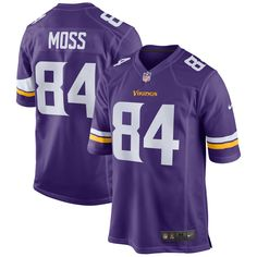 9e17ad18ac5 Randy Moss Minnesota Vikings Nike Retired Player Game Jersey - Purple. Nfl  Jerseys For SaleFootball ...