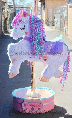 PIÑATAS~Carousel horse PIÑATA by Creativehandsforyou