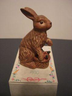Olde World Heritage Bunny Rabbit Figurine Small | eBay