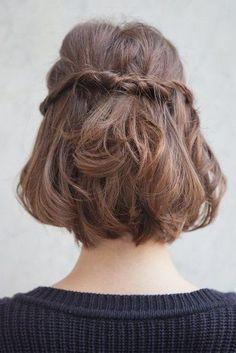 Brown + Half Side Twist