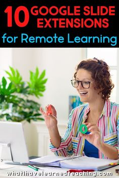 Google Slides are a great tool to use when assigning student work in Google Classroom. A few Google extensions can make it even better! Here are 10 extensions that can take your remote learning to the next level with voice-to-text, automating repetitive tasks, and interactive tools. Teachers love sprucing up their Google Slides and working smarter during distance learning.