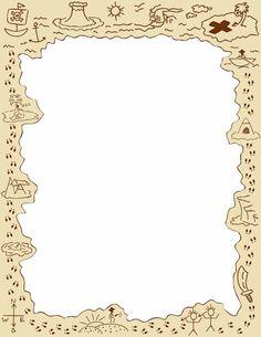 Pirates : carte au trésor.