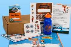 unior Explorers sends your child a monthly mission kit that combines cool collectibles and activities that teach kids about nature and wildlife. Each month there is a new mission, new animals and a new different ecosystem to explore!