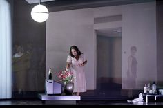 Klaus Grünberg – Set and lighting design for Verdi's Aida, Opernhaus Zürich, 2014