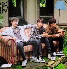 Chan, Jisung and Changbin Stray Kids