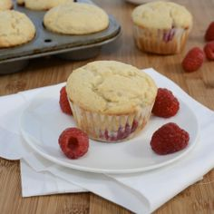 Sweet Pea's Kitchen » Raspberry-Cream Cheese Muffins....but with strawberry instead of Raspberry! YUM!