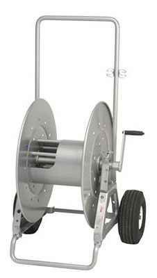 Hannay Portable Storage Reel on Wheels for storage of hose, cable, rope or wire. Cable Reel, Cable Box, Cable Management System, Wire Management, Storage, Wheels, Fishing Lures, Wood, Tools