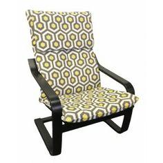 lemon magna fabric, ikea slipcover, ikea cover