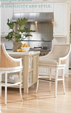 luv these stools - stanley furniture