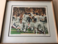 """Paul Calle Limited Edition Print, New York Yankees 1978 World Series  20"""" x 16"""""""