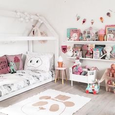 Gorgeous girls bedroom, love the icecream