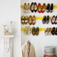 schoenen opruimen via instructables