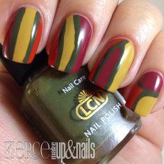 LCN Charade Collection: Thanksgiving Nail Art
