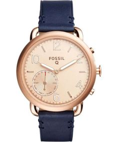 Fossil Q Tailor Hybrid-Smartwatch roségold