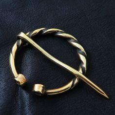 Massive brass penannular brooch from The Sunken City by DaWanda.com