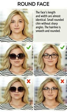696c9eef908 Here are super easy ways to choose the perfect sunglasses for any face  shape. If