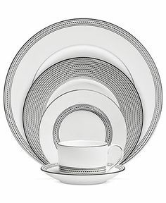 Vera Wang Wedgwood Dinnerware, Moderne Collection - Fine China - Dining & Entertaining - Macy's