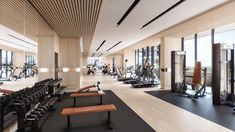 Fitness Centers with Pools . Fitness Centers with Pools . A Great Gym Setup and Design for One Of Our Homes In Miami Casa Jenner, Gym Interior, Interior Design, Interior Photo, Luxury Gym, Hotel Gym, King's Landing, Home Gym Design, Gym Decor